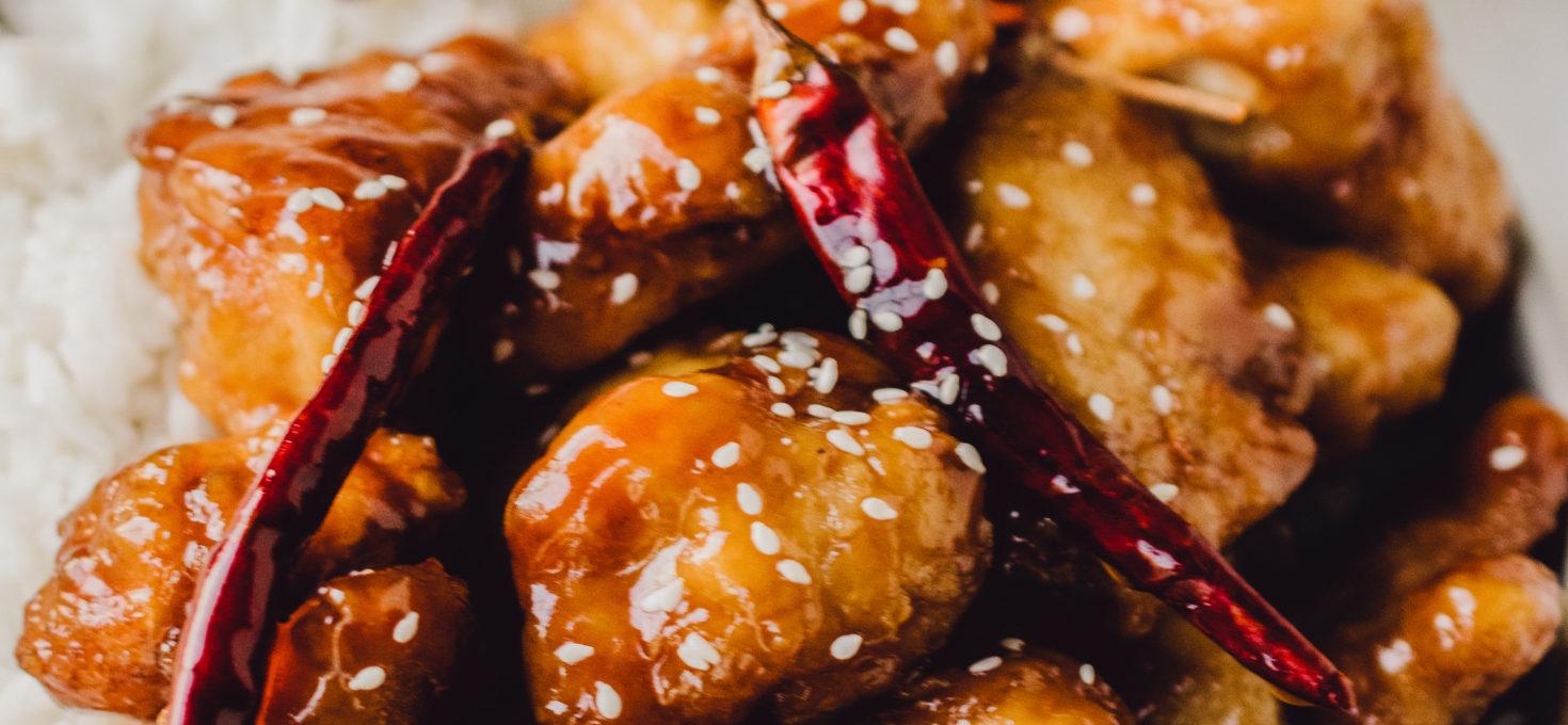 homemade general tso's chicken
