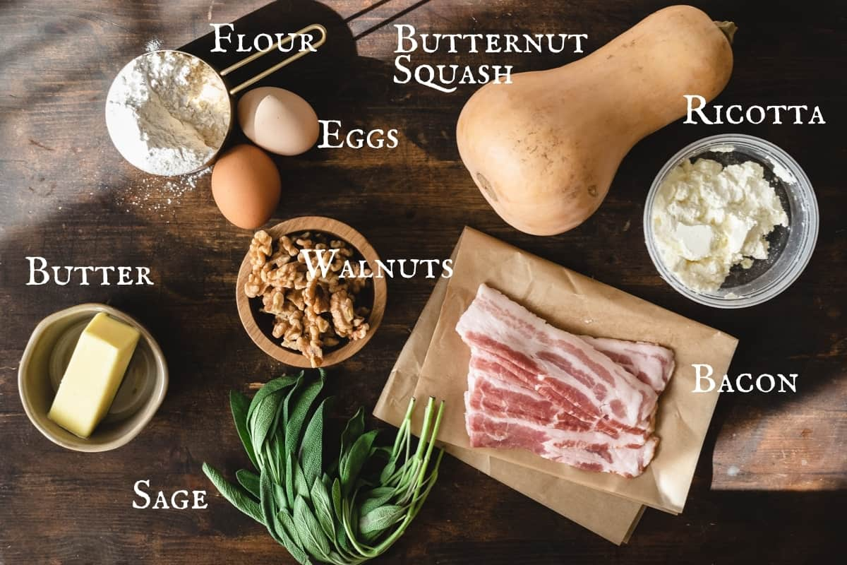 Photo of the individual ingredient items needed to make the recipe.